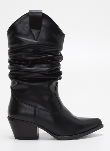 F By Fabrika Çizme Siyah